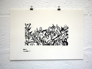 Image of Muju Journey Screenprint No.3