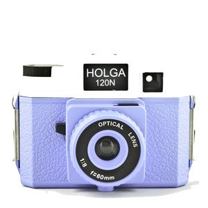 Image of Holga 120 N (Blue &amp; White)