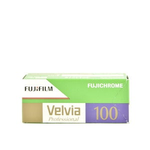 Image of Fujifilm Velvia 100 - Color Slide 120 Film