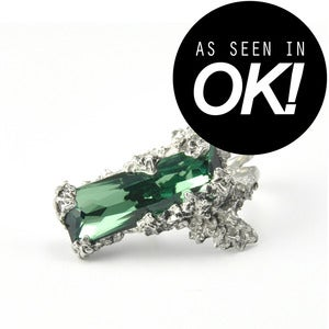 Image of Mento. Green Crystal Ring