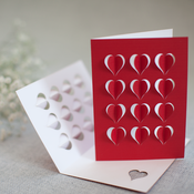 Image of pop-out hearts
