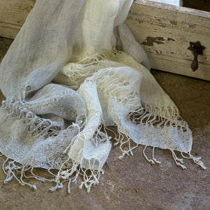 Image of Bandhura Linen Scarf