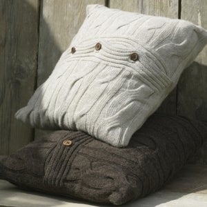 Image of Luxury Lambswool Cushion