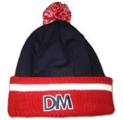 Image of 'DM Logo' Pom Pom Beanie (Sold Out)