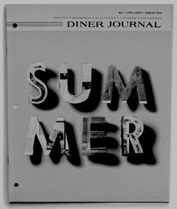 Photocopy of Diner Journal No. 4