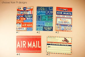 Image of Air Mail postcards