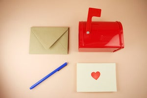 Image of Mailbox stationery set