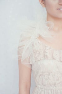 Image of Dreaming Beauty Bridal Tulle Wrap