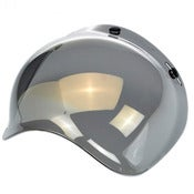Image of Biltwell Bubble Shield - Mirror Solid