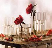 Image of Glass Satellite Vases