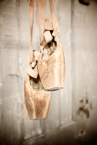 Image of Vintage Ballet Slippers