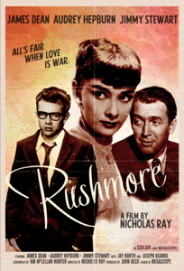 Image of &quot;Rushmore&quot; - starring James Dean &amp; Audrey Hepburn