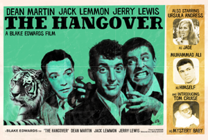 Image of &quot;The Hangover&quot; - starring Dean Martin (SOLD OUT)
