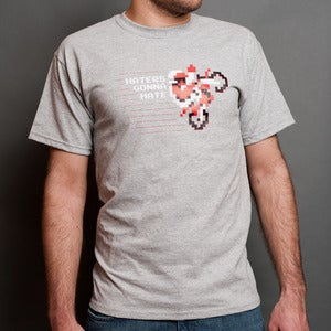 Image of Haters Gonna Hate - Men's/Gray