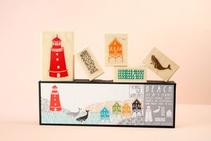 Image of LAST ONE! Beach Stamp Set