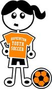 Image of HYS Soccer Girl Decal/Sticker