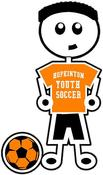 Image of HYS Soccer Boy Decal/Sticker