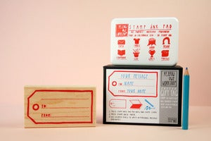 Image of Gift Tag Stamp Kit