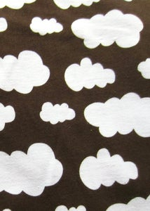 Image of Brown clouds jersey (by half metre)