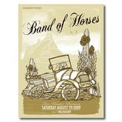 Image of Band of Horses SILK SCREEN (8.29.09)