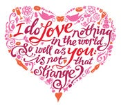 Image of Inkymole 'Much Ado About Nothing' heart print