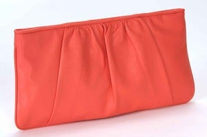 Image of Manhattan Clutch - Coral
