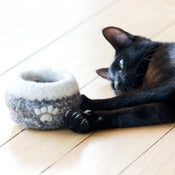 Image of Knit-felt Bowl