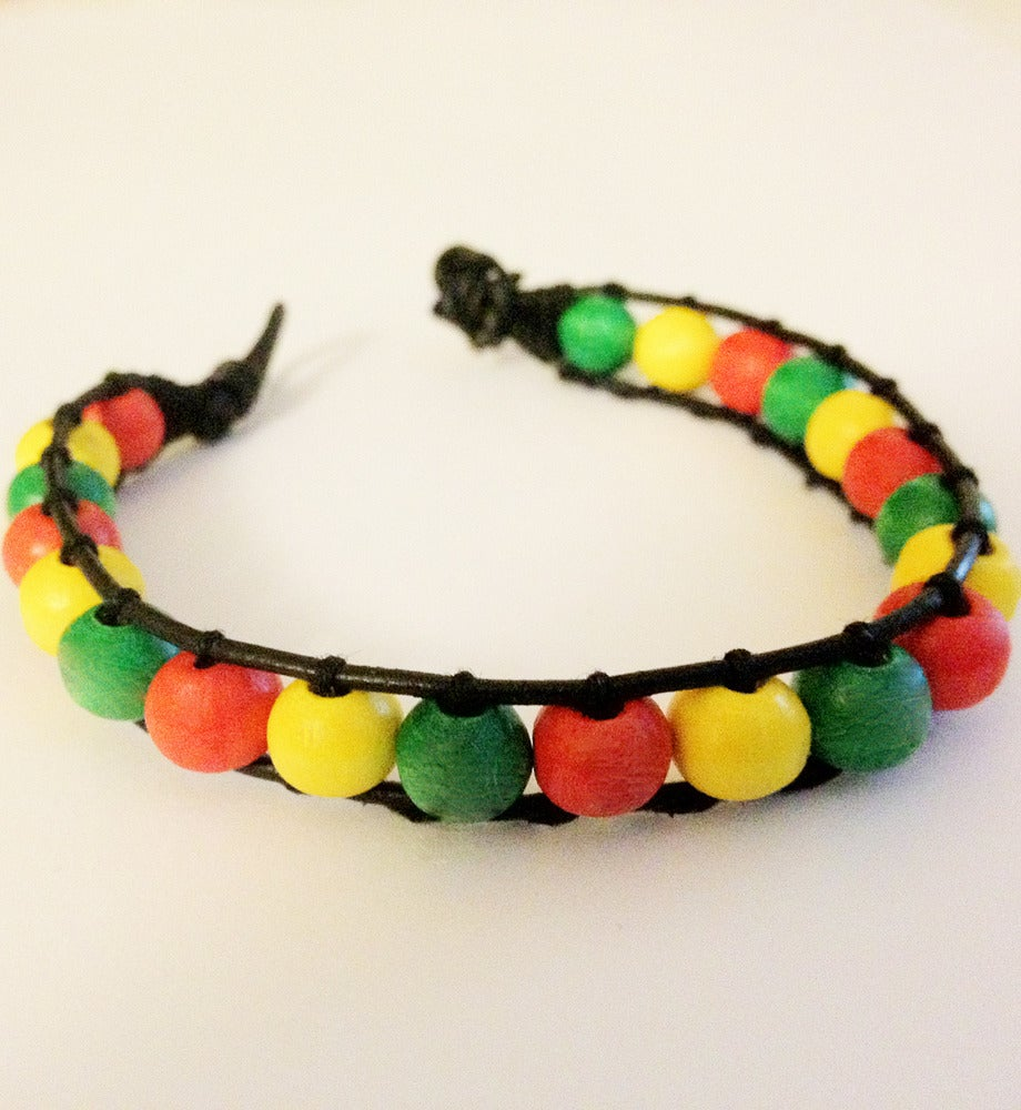 Wrap Bracelets on By Fruff     Rasta Wrap Bracelets