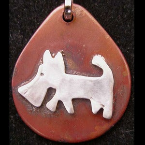Image of Scrappy Dog ID Tag in the category  on Uncommon Paws.