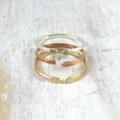 Image of gold open ring
