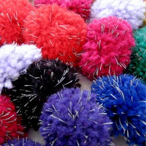 Image of POMPOM BROOCH &lt;br&gt; LFLECT REFLECTIVE