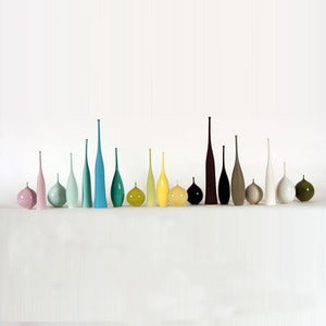Image of Sophie Cook - pods, teardrop vessels and bottles