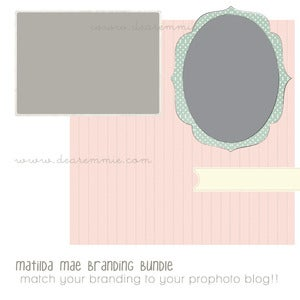 Image of matilda mae branding bundle