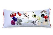 Image of Catherine Hammerton: Bottle Garden baguette cushion