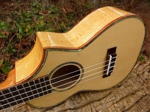 Image of Ohana CK-75G Spruce/Maple with case