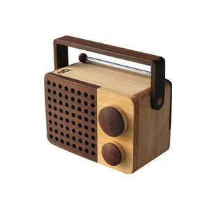 Image of MAGNO Wooden Radio WR-mini