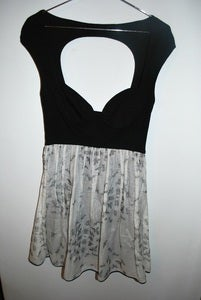 Image of Alice McCall bustier dress, open back detailing SMALL
