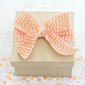 Image of Orange Fabric Ribbon