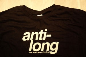 Image of Anti-Long 'Does What it Says on the Ting' T-Shirt