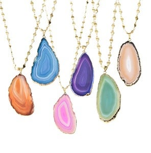 Image of Agate Geode Necklace *As seen in Lucky Magazine