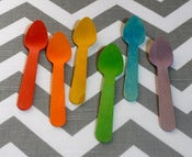 Image of Rainbow Wooden Spoons