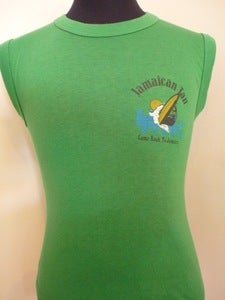 Image of 80s Jamaican Tan T shirt