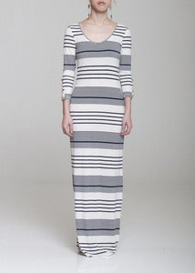 Image of Suzy Stripe Maxi Dress