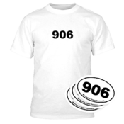 906 Tee - White