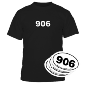 906 Tee - Black