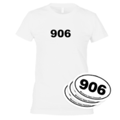 906 Tee Women's - White