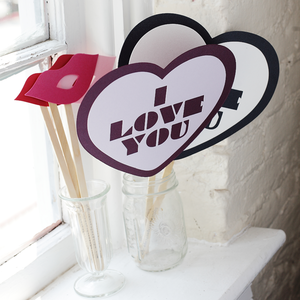 Image of I Love You + Lips
