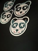 Image of Limited Vinyl Sloth Panda Paint Eater Sticker Pack