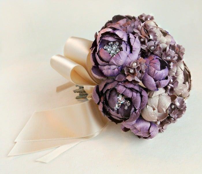 wedding artificial bouquets