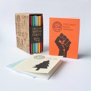 Image of Oregon History Comics: Box Set